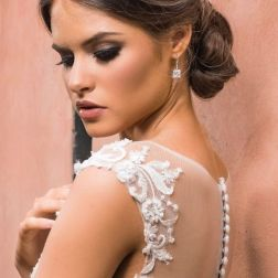 GC Bridal Lounge Photoshoot Hair styling.